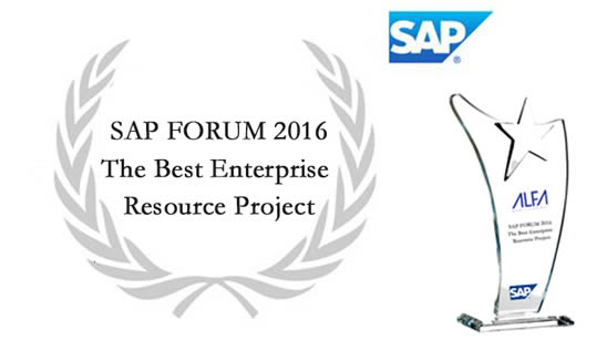 (TR) SAP Forum 2016 The Best Enterprise Resource Project